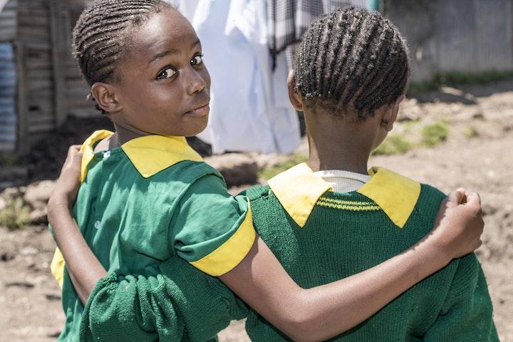 School girls in Kenya
