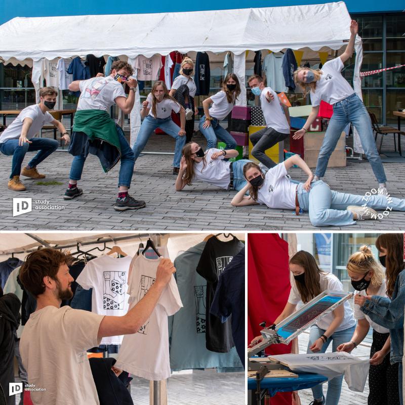 TU Delft in actie voor Terre des Hommes (kleding bedrukken)