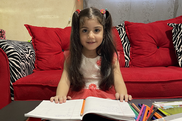 Noha is eager to learn