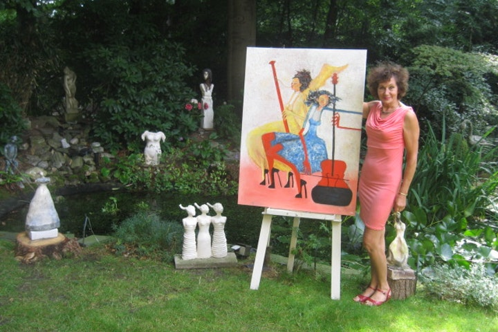 Kunstenares Denise Wouters