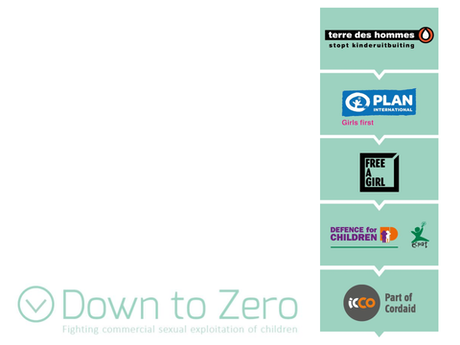 Down to Zero logo en partners