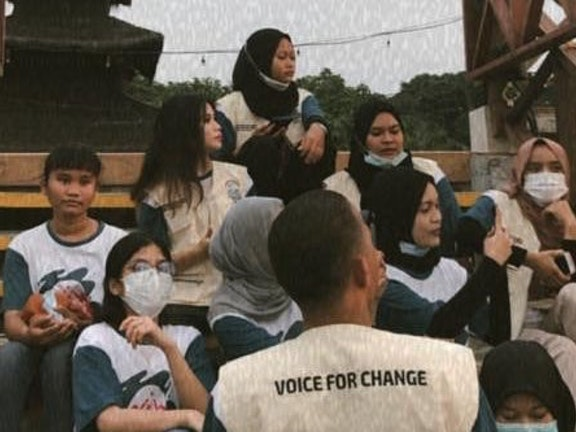 Rizky's dream to raise the voices of Indonesia children