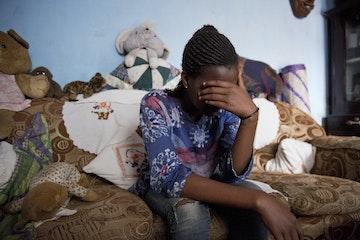 Slachtoffer van seksuele uitbuiting in Oeganda. Foto van Merel van den Ende/TdH