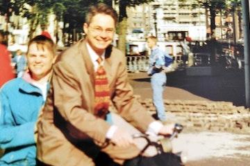 Het is 13 juni 1996 als Trudy aankomt bij het stadhuis van Amsterdam.