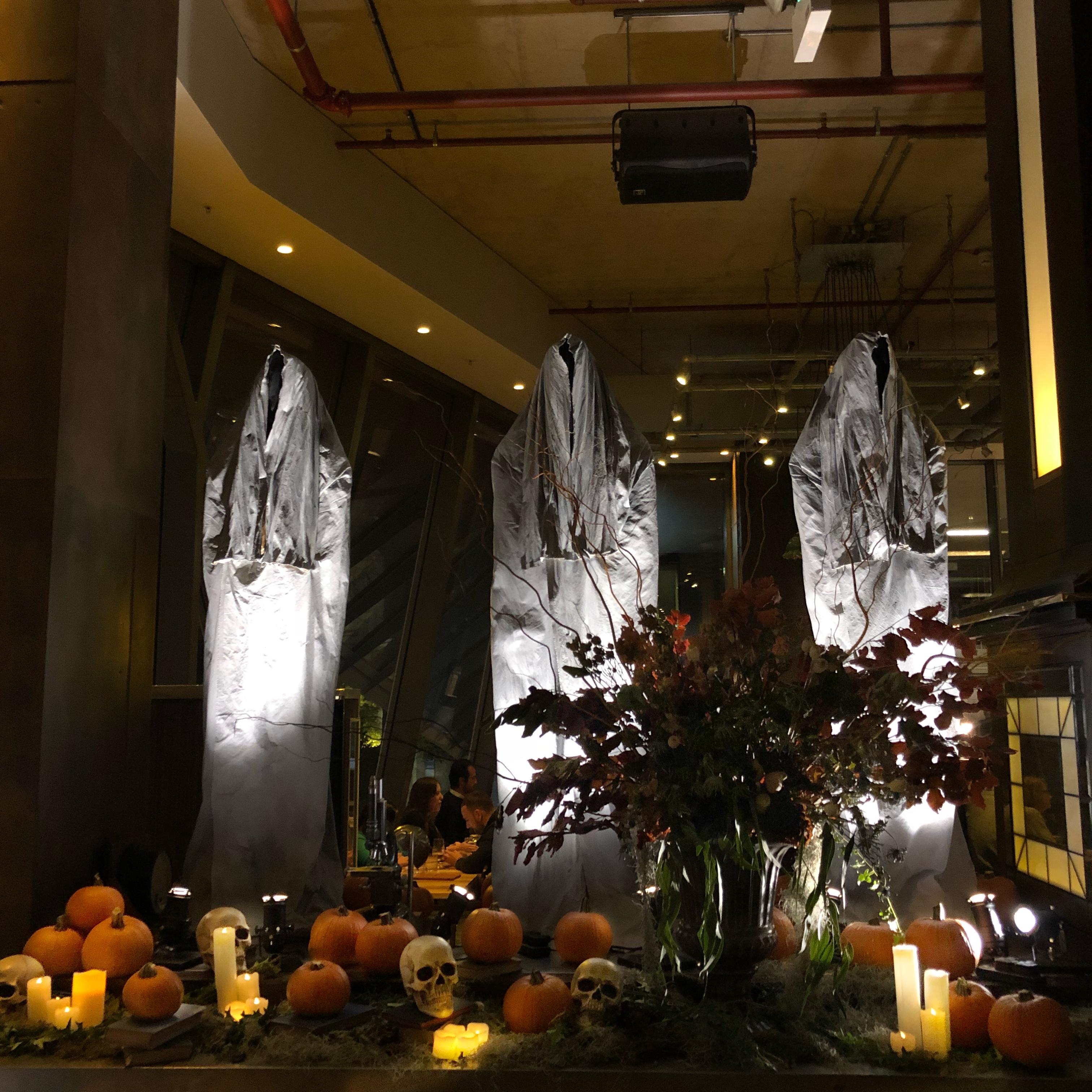 Gordon Ramsay's Halloween Installation