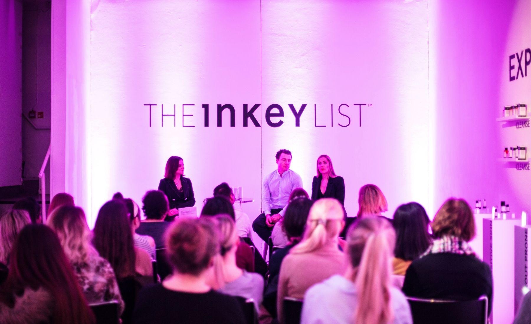 The INKEY List Press Event