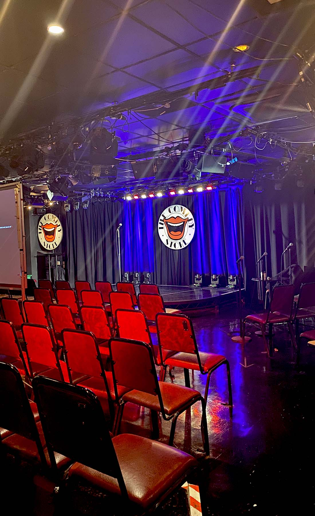 comedy store view of stage