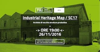 Industrial Heritage Map SC17 / Archivio di vecchie strutture produttive
