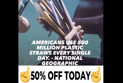 How to create a video ad for reusable straws