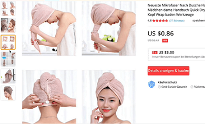 This shower head wrap is one of the top items to sell in 2020