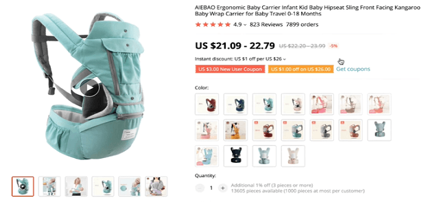 Product recommendation: ergonomic baby carrier