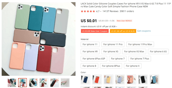 Another great store recommendation is silicone iPhone cases