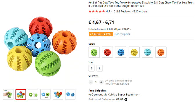 Consider dropshipping these quiet pet toys