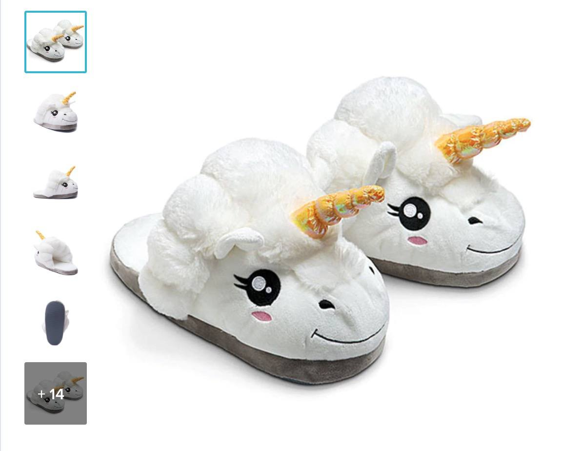 Selling unicorn slippers as a dropshipping product