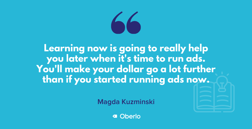 Magda's quote on learning now