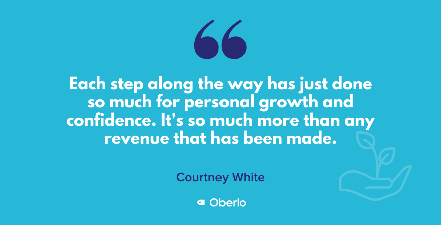 Courtney on personal growth