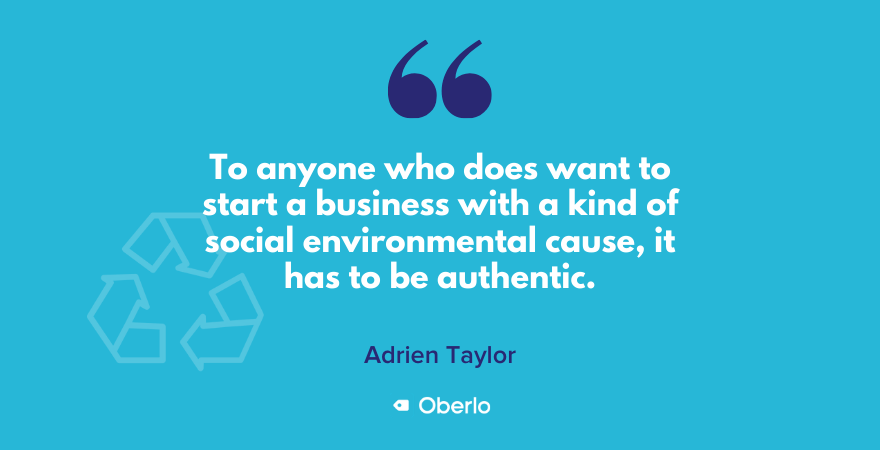 Social and environmental causes in businesses must be authentic