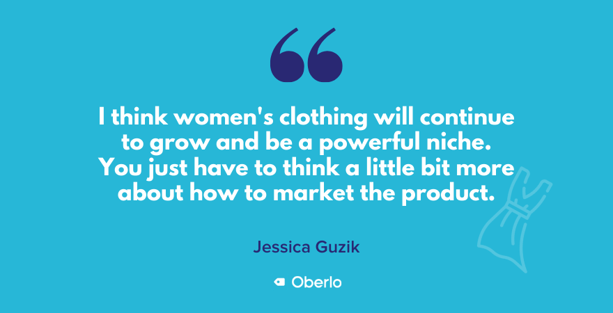 Being smart about marketing women's clothing