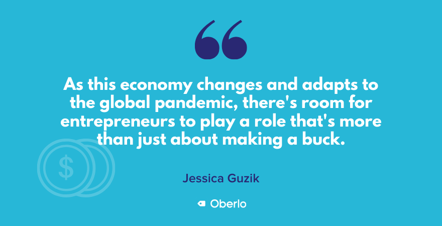 Jessica on role of entrepreneurs in a global pandemic