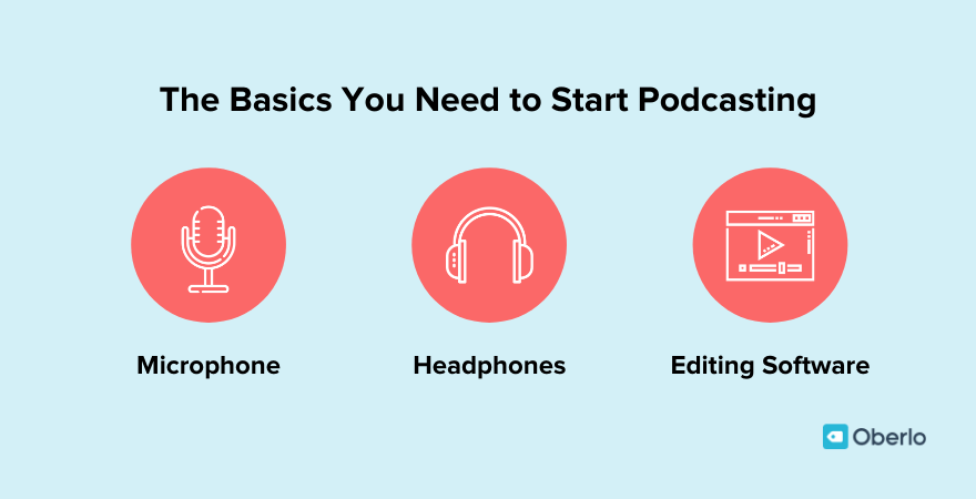 Basics you need to start podcasting