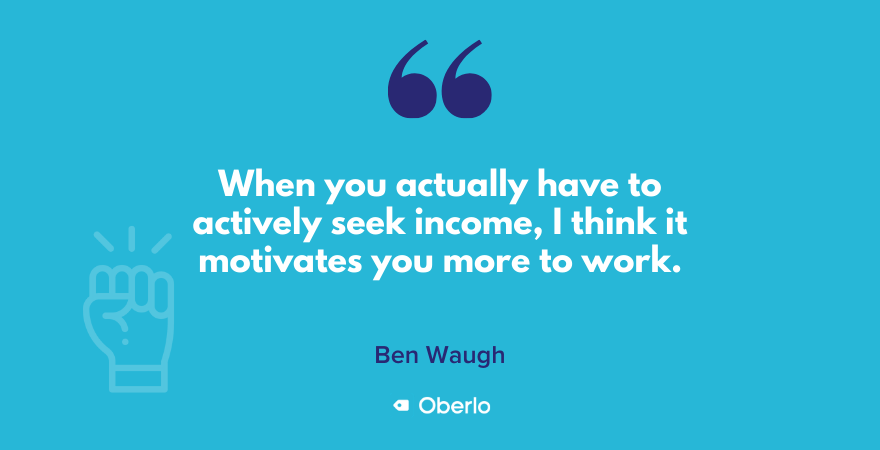 Ben Waugh quote on motivation