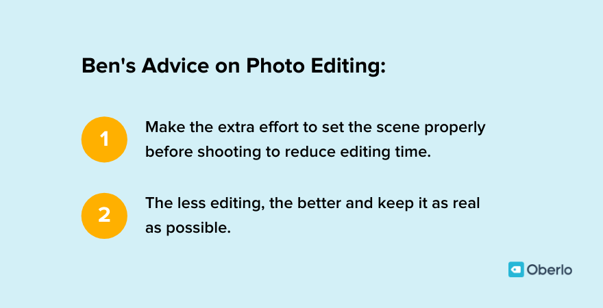 Photo editing advice from Ben Waugh
