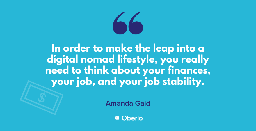 Things to consider when starting a digital nomad lifestyle now