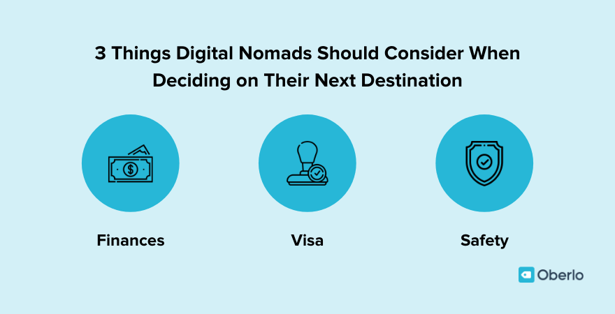 Things to consider as a digital nomad