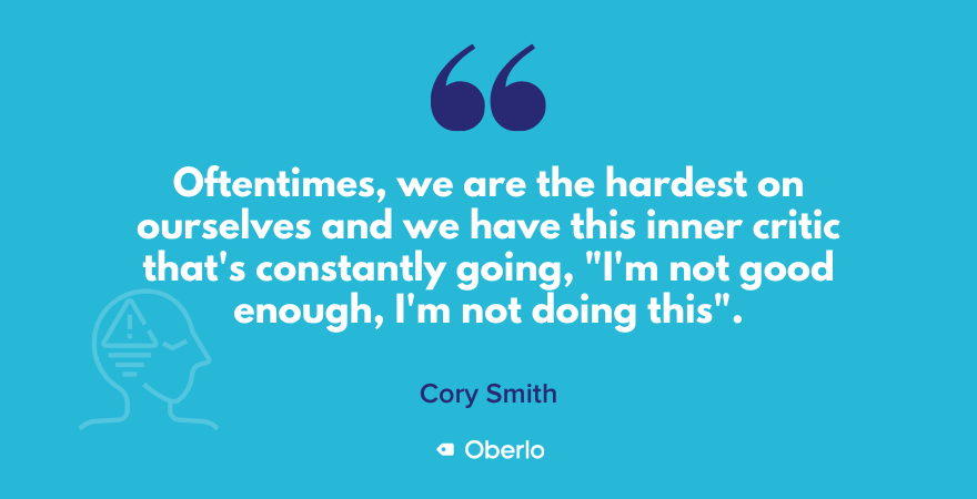 Cory Smith on our inner critic