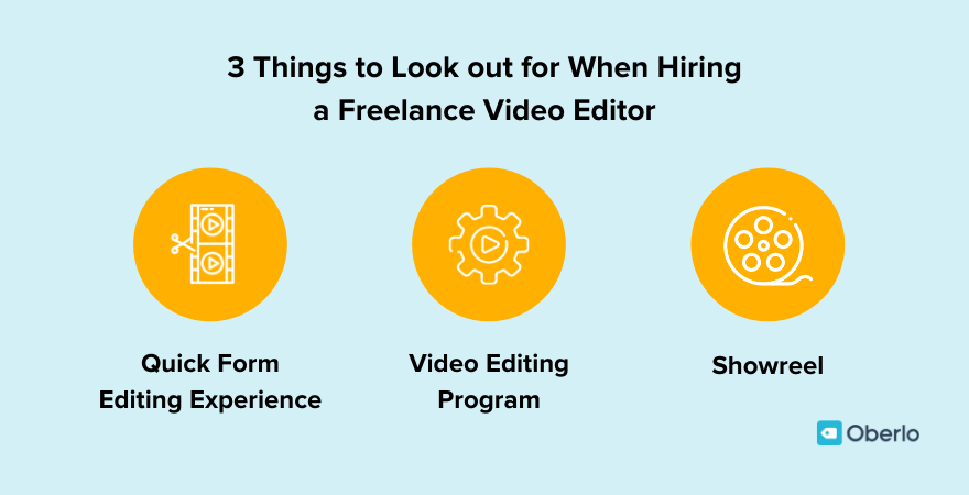 What to look out for when hiring a freelance video editor