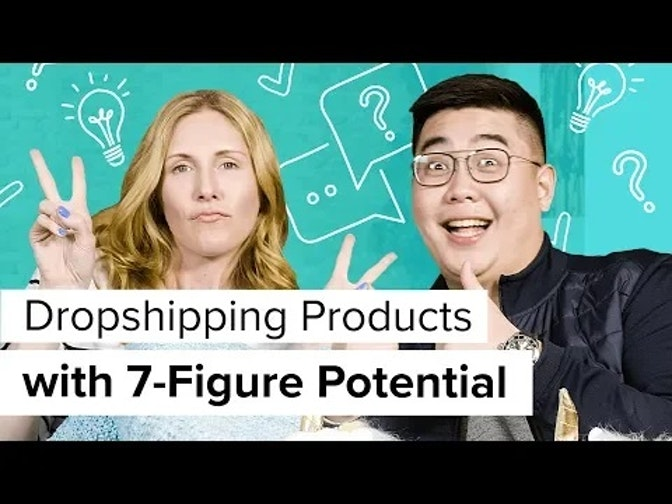 dropshipping products with seven-figure potential