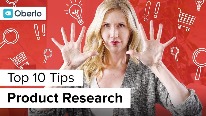 top ten tips product research