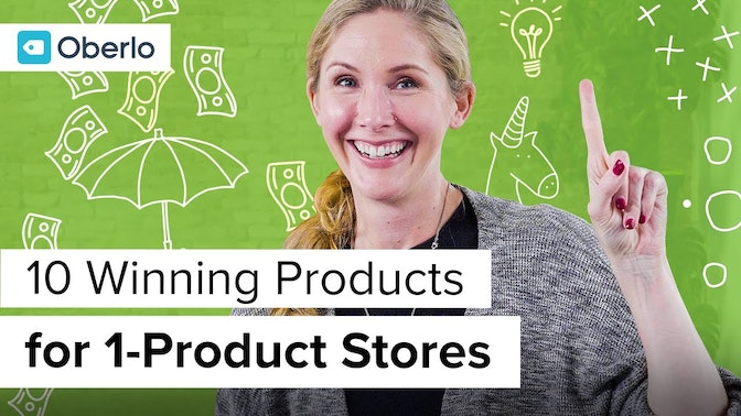 ten winning products for one-product stores