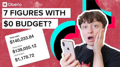 seven figures with $0 budget