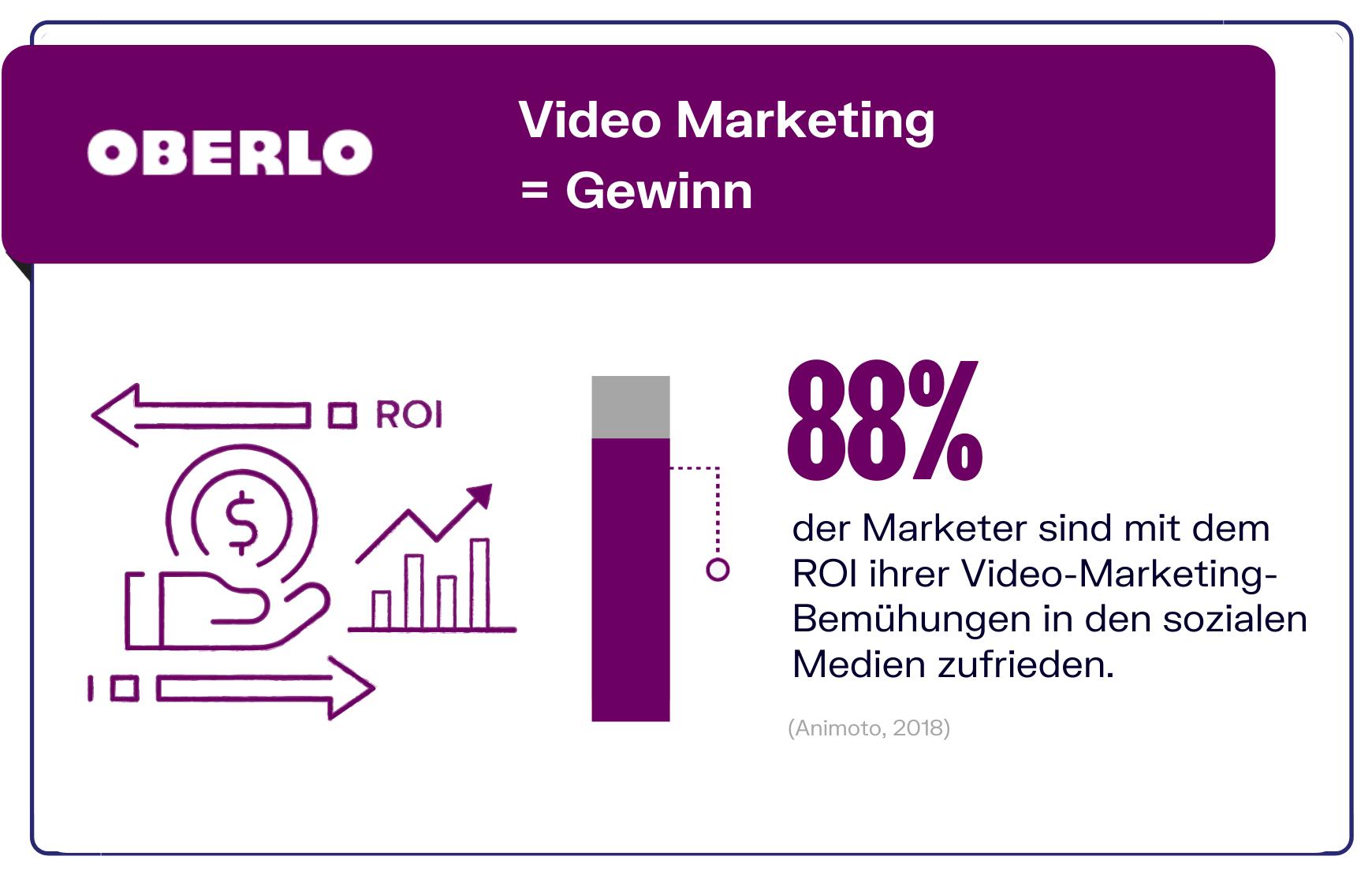Video Marketing und der ROI