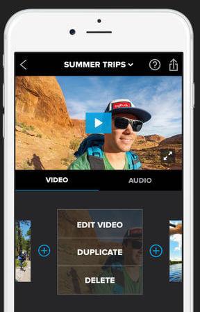 Videobearbeitung mit GoPro