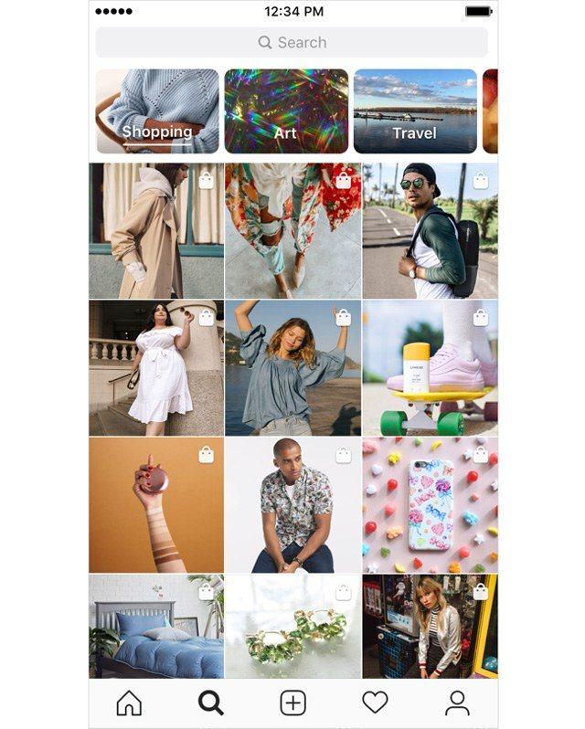 Explore Tab in Instagram