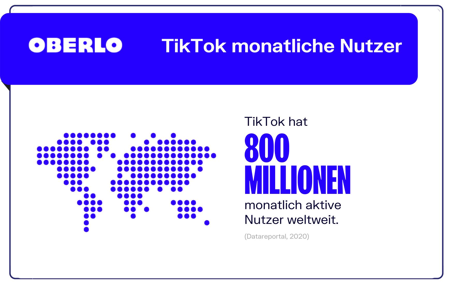TikTok Statistiken Nutzer