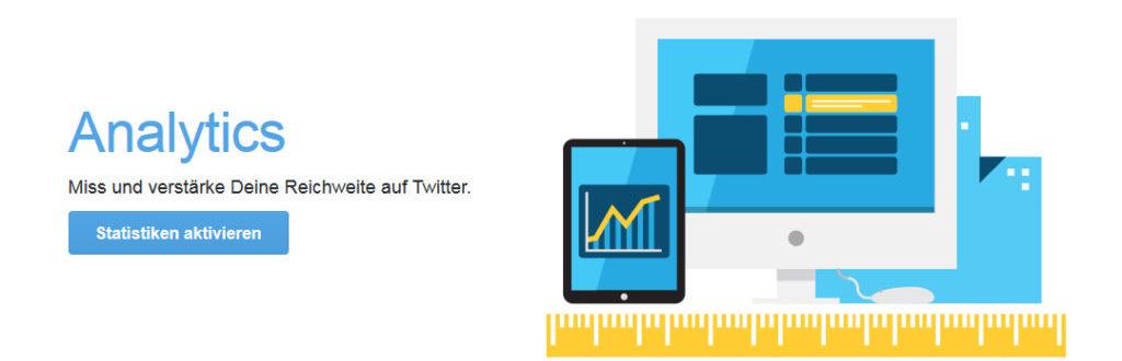 Twitter Analytics Grafik