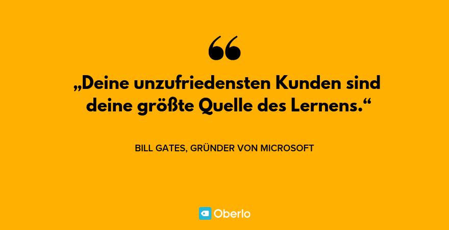 Motivationssprüche - Bill Gates