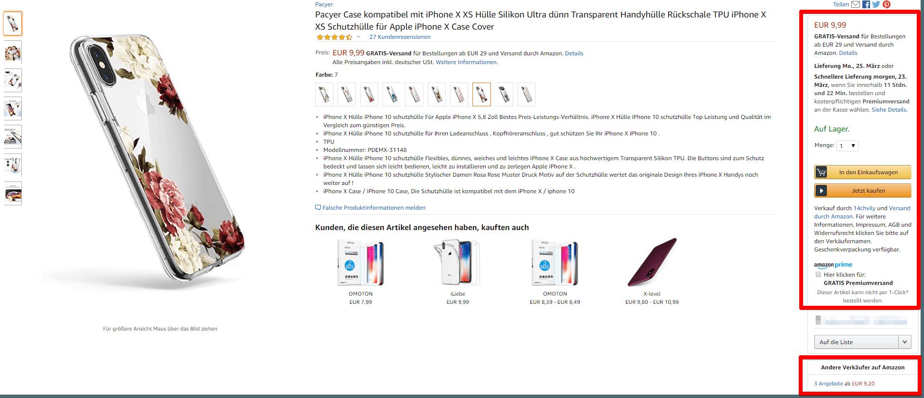 Die Buy Box für Amazon Dropshipping