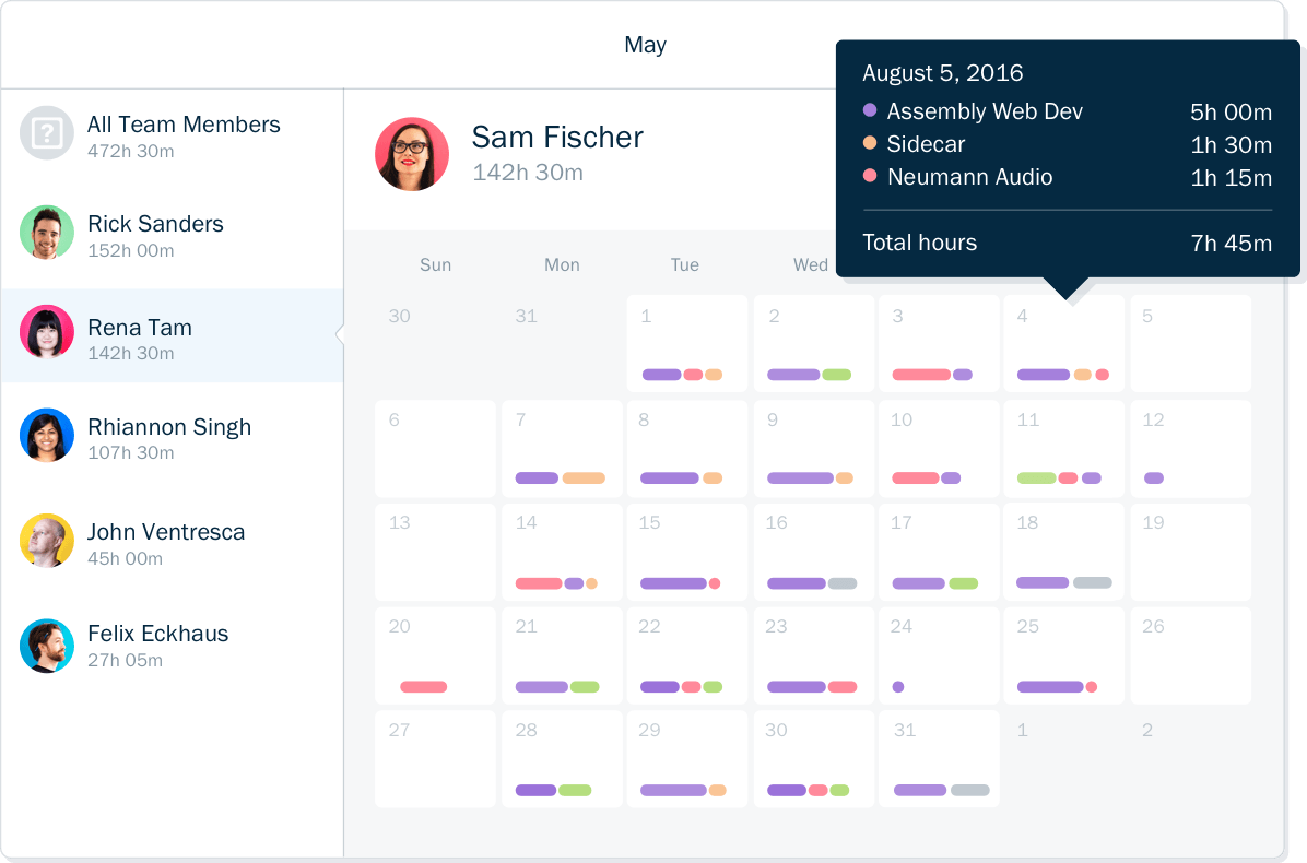 Time Tracker App - Freshbooks