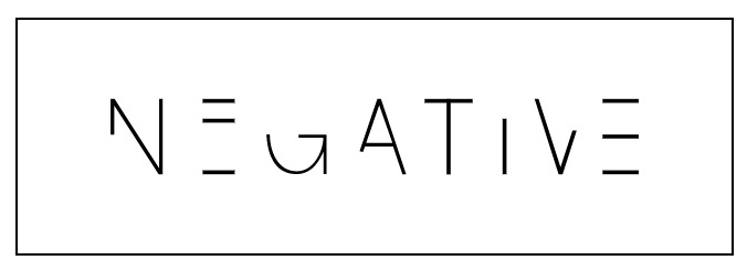 Negative Underwear Logo