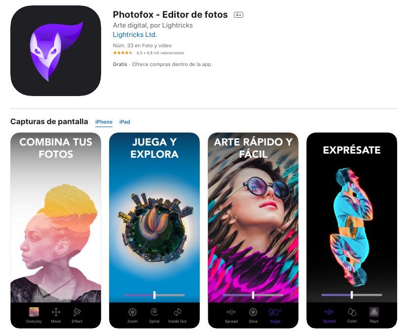 app editar fotos gratis