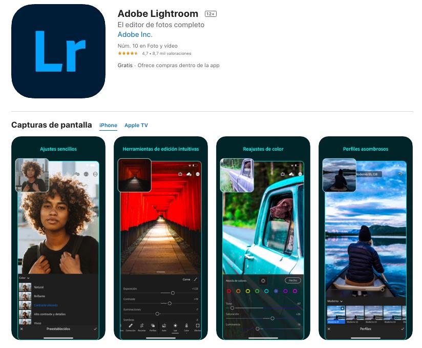 mejor app para editar fotos