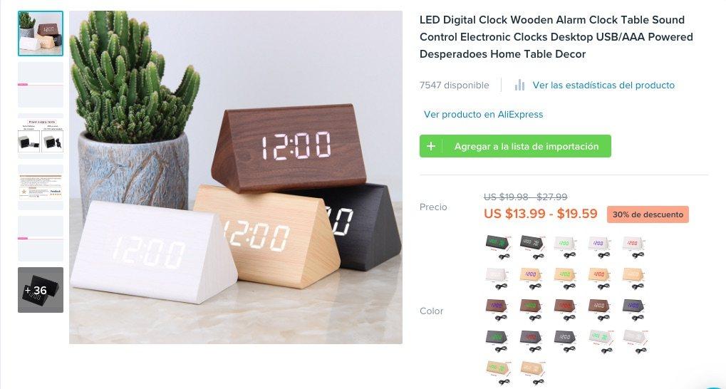 ejemplos de nuevos productos