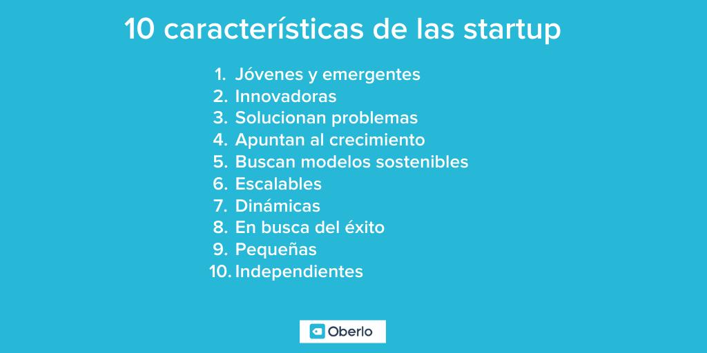 10 características de las empresas startup