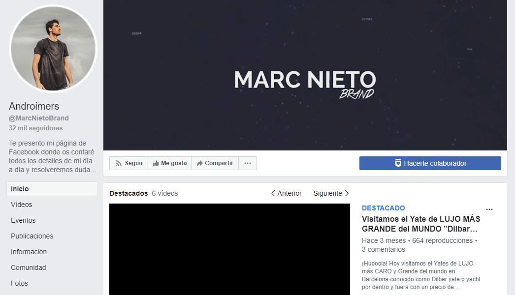 Canal de difusión dropshipping de Marc Nieto