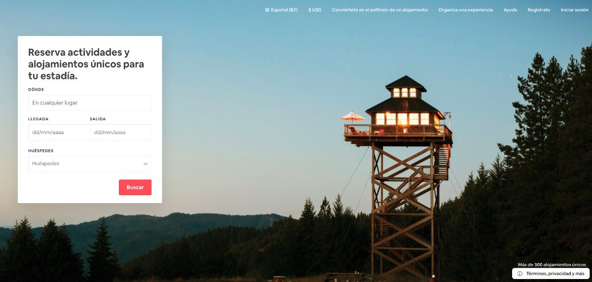Airbnb - Un diseño en torno a la usabilidad web