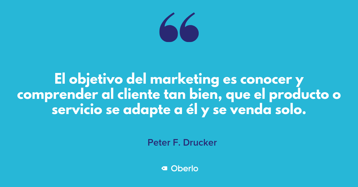 Frase Marketing de Peter F. Drucker